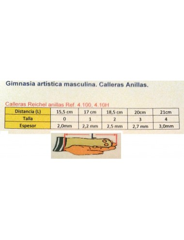 CALLERAS ANILLAS REICHEL 4100