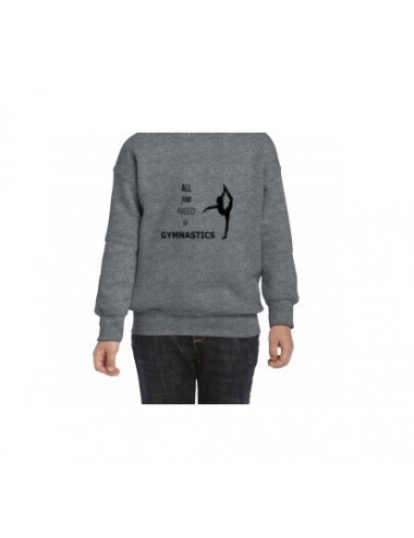 SUDADERA ALL YOU NEED CON CAPUCHA