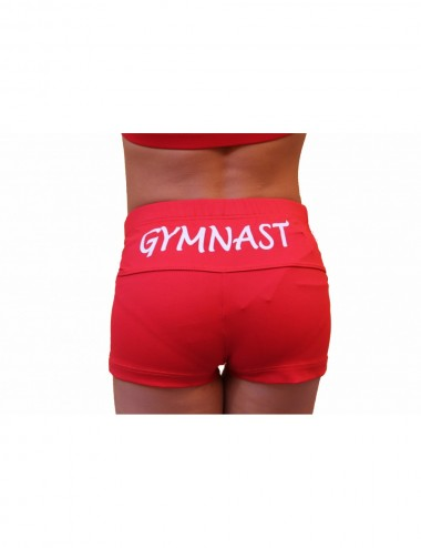 GYMNAST SHORT ROJO